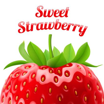425x425 Delicious Fresh Strawberry Vector Free Vectors Ui Download