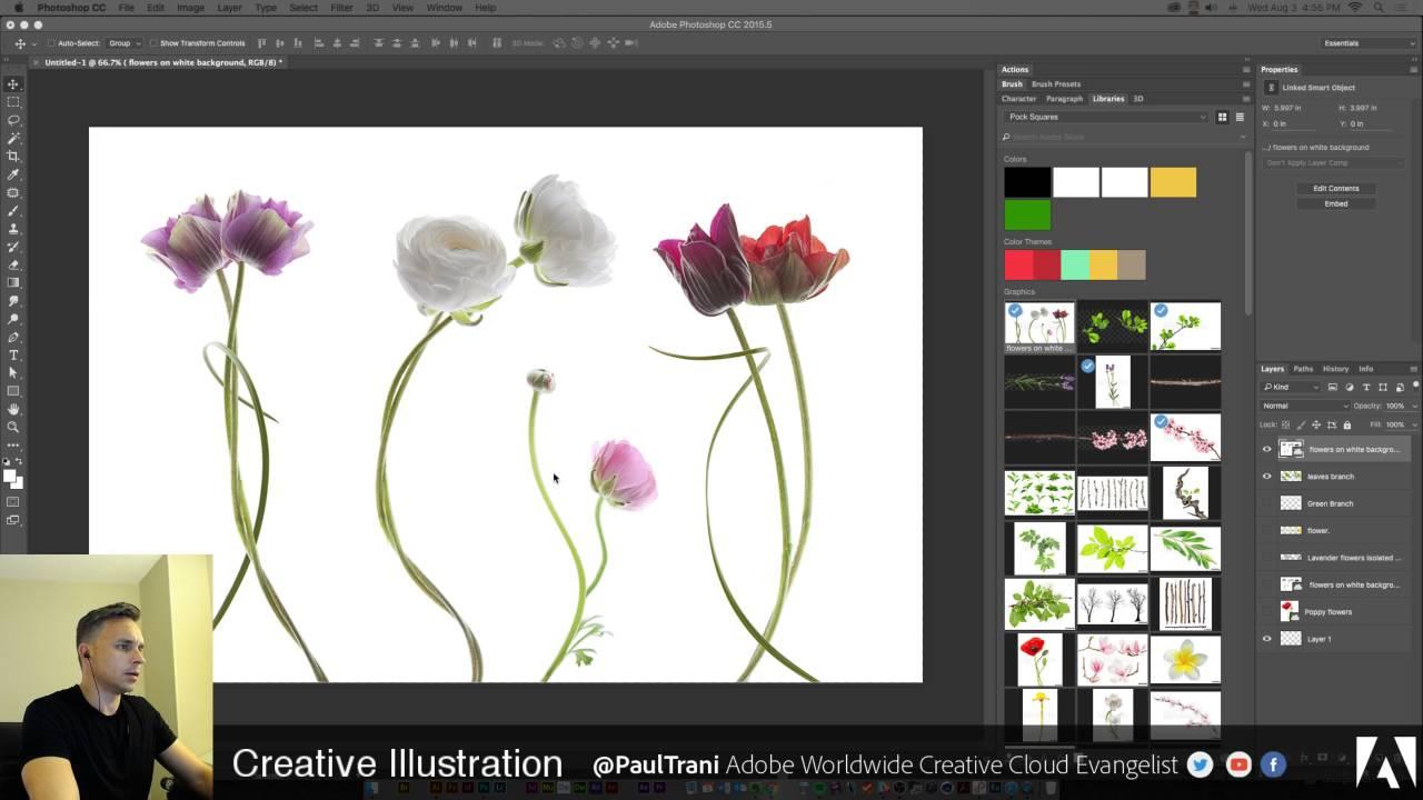 1280x720 Paul Trani Live Stream Vector Illustration In Illustrator