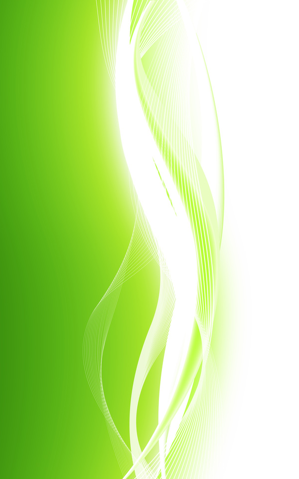 600x960 Abstract Green Waves Data Stream Vector Background Free Download