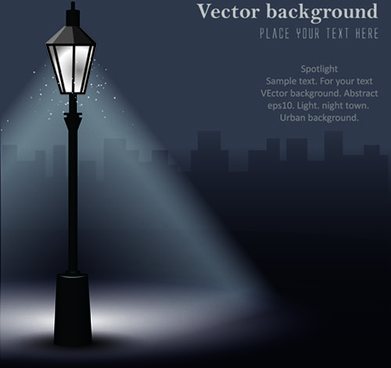 391x368 Street Lamp Free Vector Download (1,496 Free Vector) For