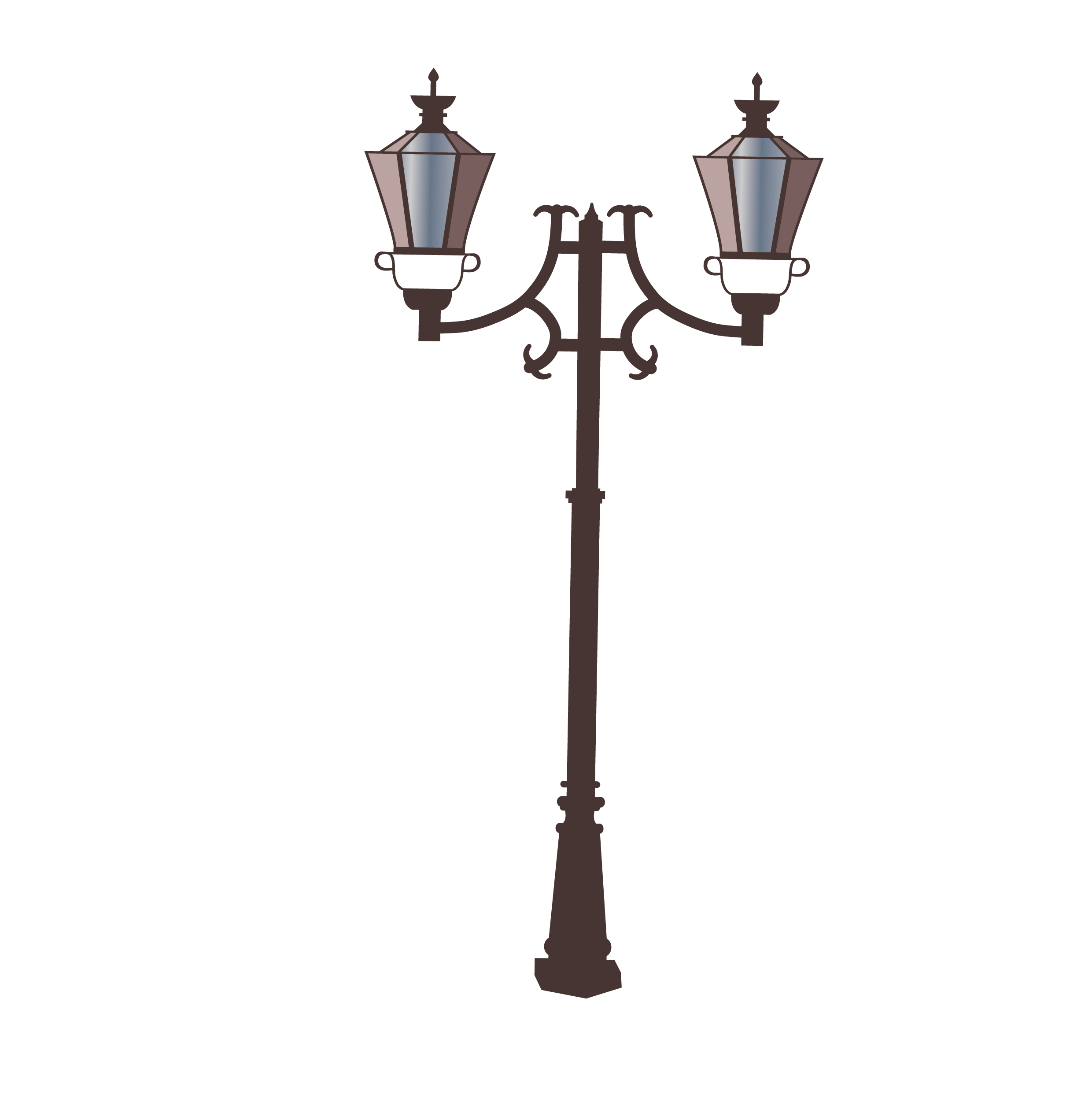 2480x2493 Street Light Lamp