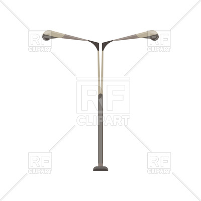 400x400 Street Light Flat Lamp Vector Image Vector Artwork Of Icons And