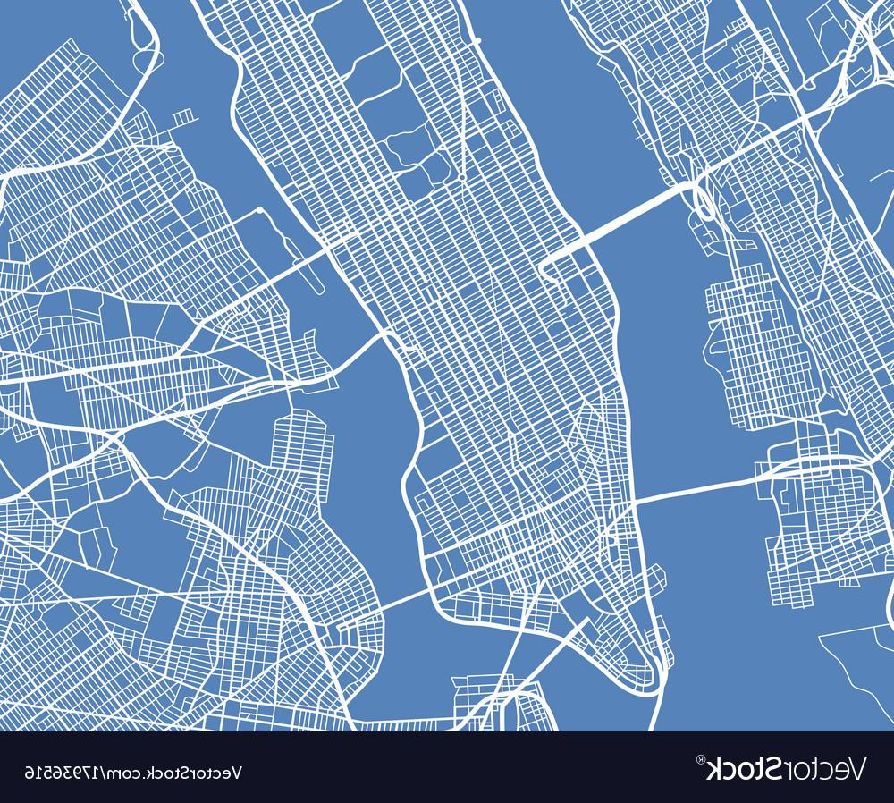 1000x898 Best 15 Aerial View Usa New York City Street Map Vector Pictures