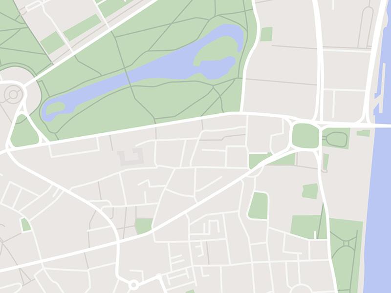 800x600 Vector City Street Maps By Tony Thomas