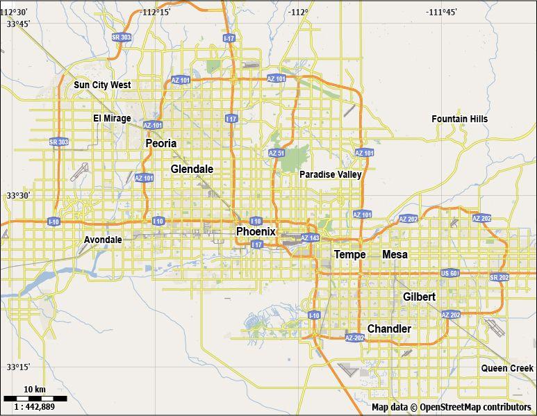 773x599 Winnipeg Street Map Stock Free Phoenix Vector City Street Map For