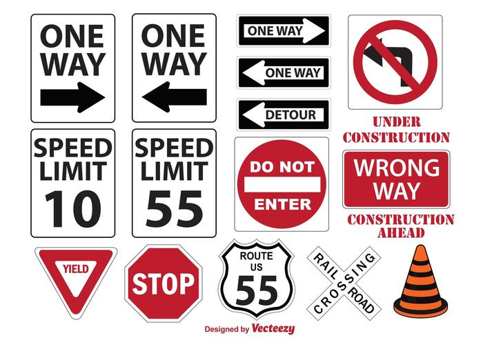 700x490 Miscellaneous Street Signs