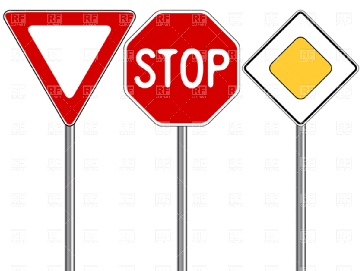 1200x899 Traffic Signs Vector Image Vector Artwork Of Signs, Symbols