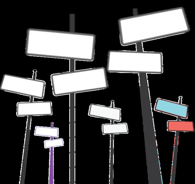 637x600 Vector Street Signs (Psd) Official Psds