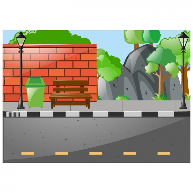 626x626 Street Background Design Vector Free Download