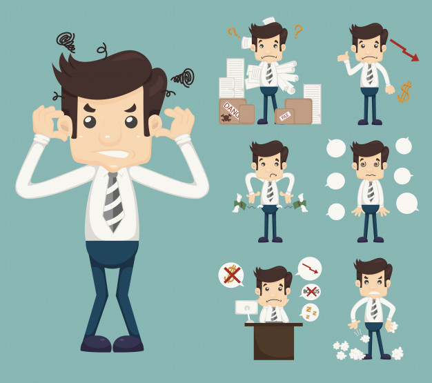 626x555 Cartoon Pictures Of Stressed People Desktop Backgrounds