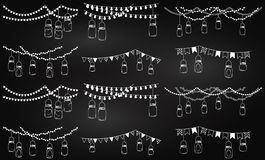 265x160 Mason Jar Christmas Lights Clipart Collection