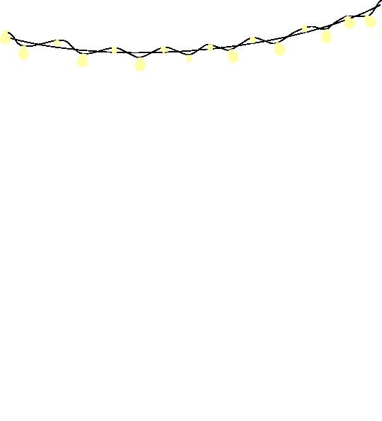 540x594 Outdoor String Lights Clip Art