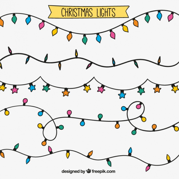 Christmas Lights Vector Free.String Lights Vector Free At Getdrawings Com Free For