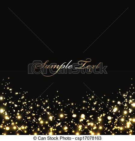 450x470 Christmas Lights Clipart Black Background