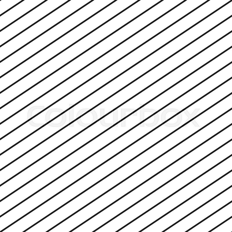 800x800 Vector Seamless Stripe Pattern. Repeat Thin Diagonal Parallel