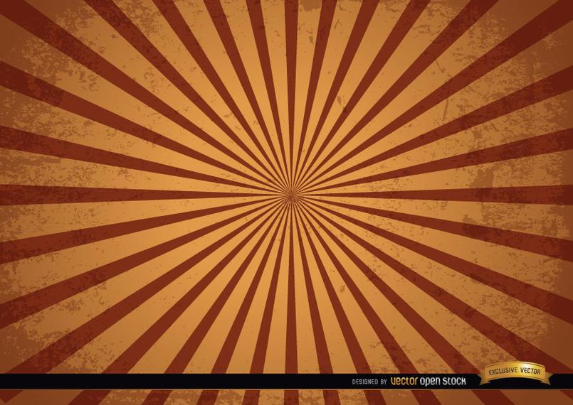 805x570 Vintage Grunge Radial Stripes Background