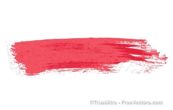 600x382 Download Free Blood Stroke Vector Vector Illustration