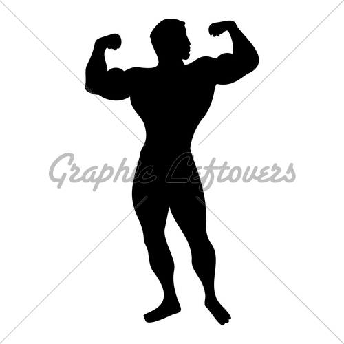 500x500 Strong Man Gl Stock Images