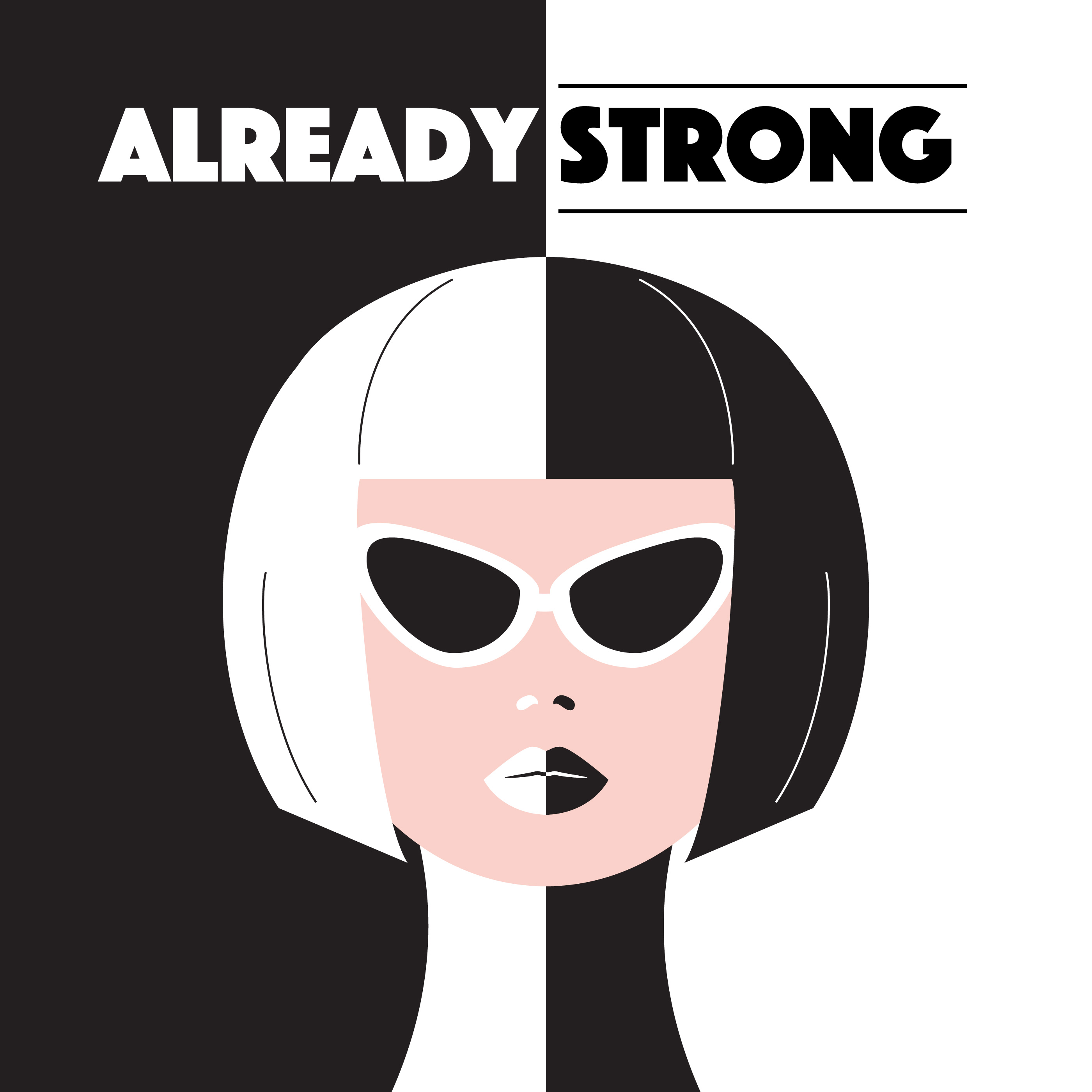 2800x2800 Strong Woman Free Vector Art
