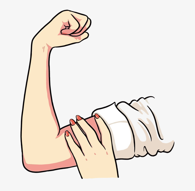 650x636 Vector Strong Girl, Biceps, Effort, Female Png And Vector For Free