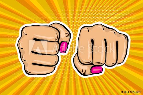 500x334 Woman Fist