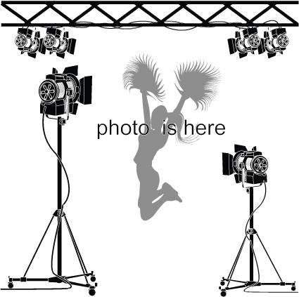 425x423 Elements Of Photographic Studio Photographer Design Vector 04 Free