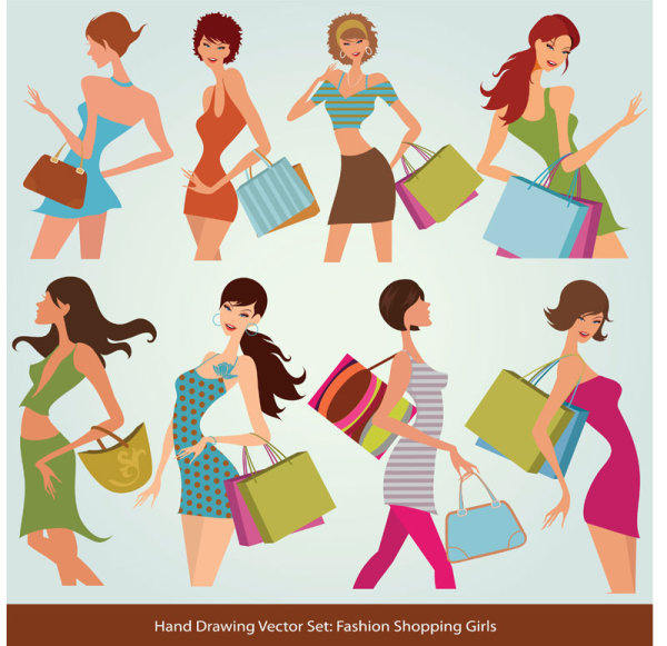 600x581 Fashion Girls Style Vector Download Free Vectors Graphic Design