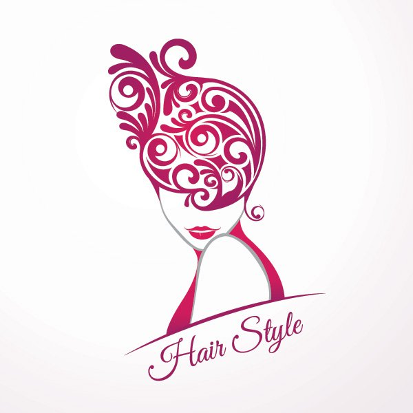 600x600 Hair Style Vector Graphic Vector Free Vector Download In .ai