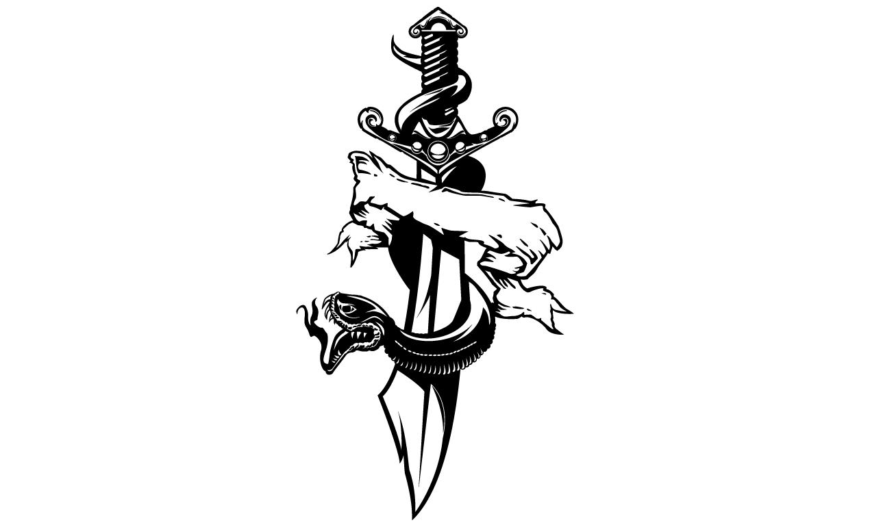 1270x770 Adobe Illustrator Tattoo Design Pack