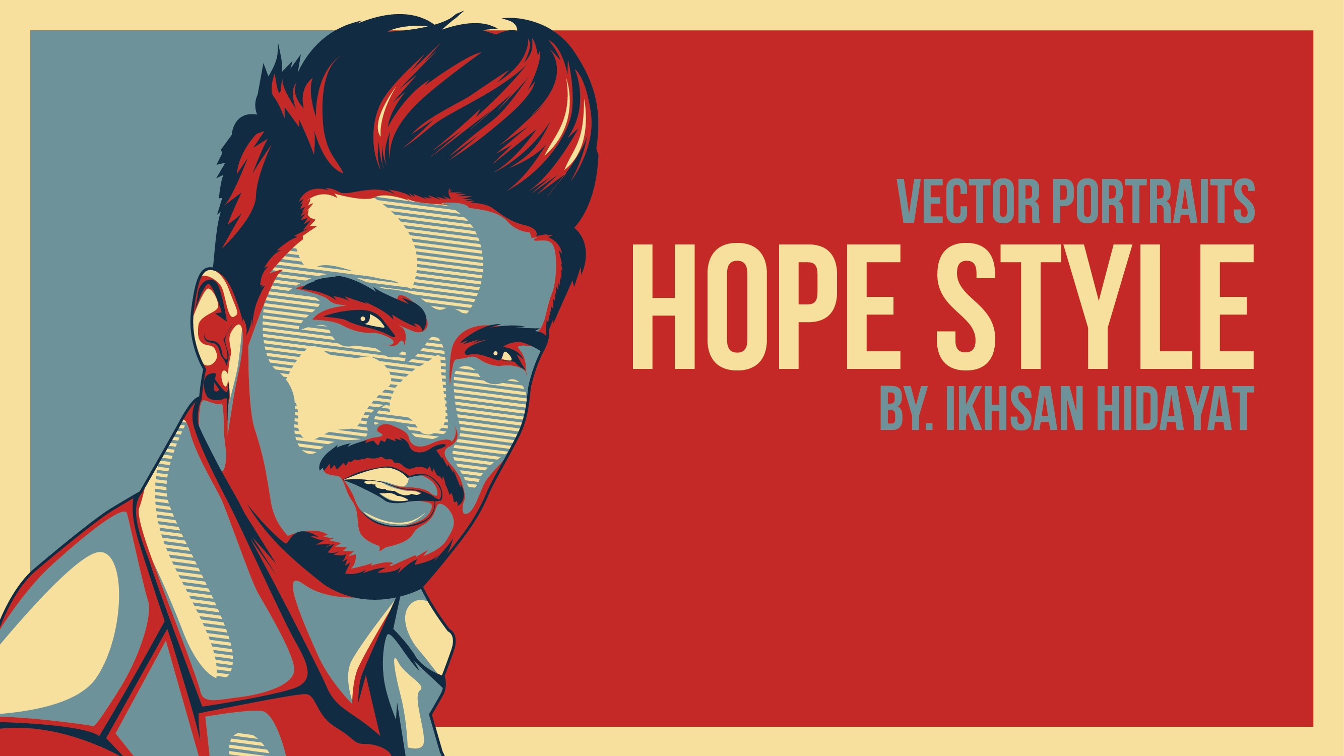 2667x1500 Obama Hope Style Tutorial Vector