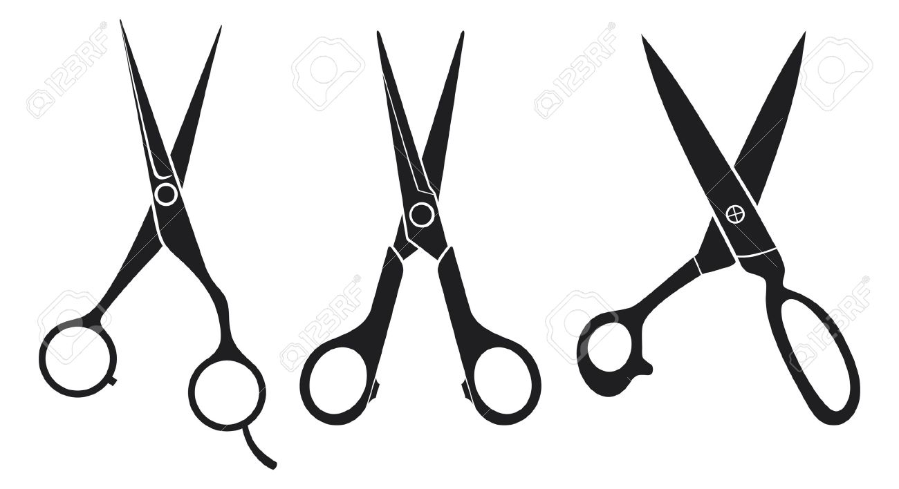 1300x708 Images Of Hair Stylist Scissors Vector