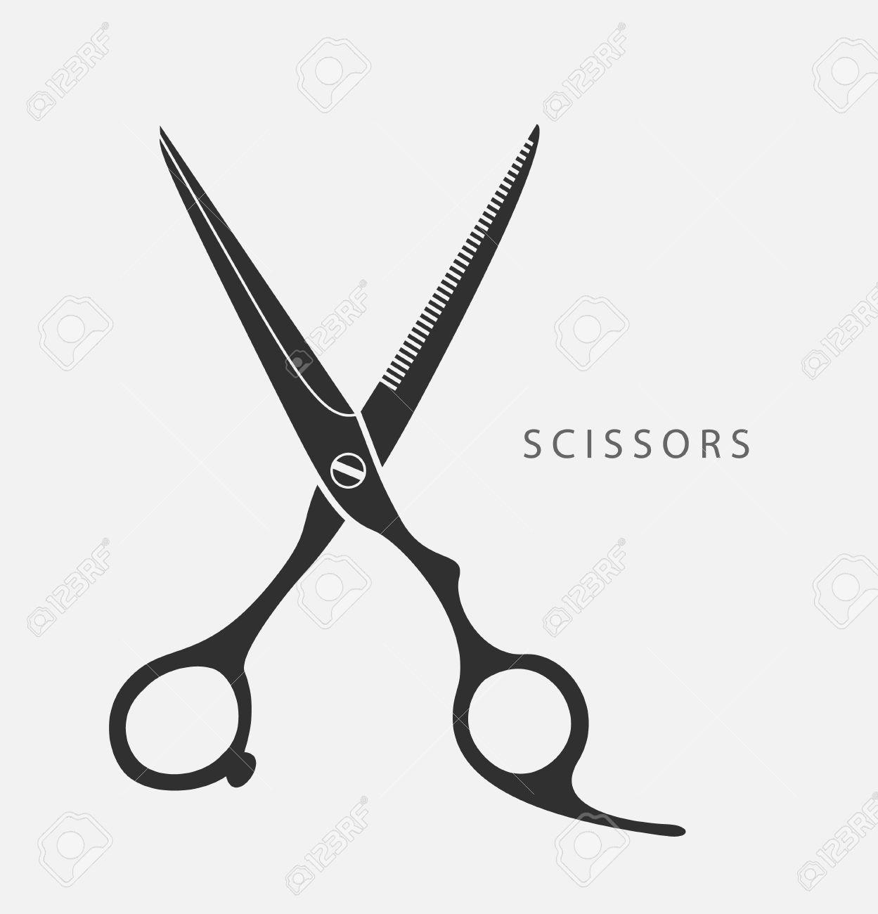 1249x1300 Stylist Scissors Vector