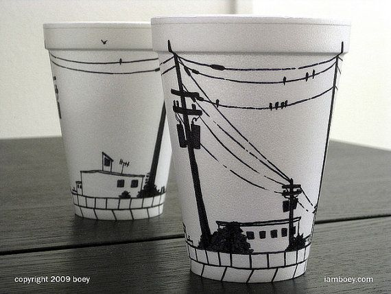 570x428 Styrofoam Cup Vector 20 Best Cup Design Images