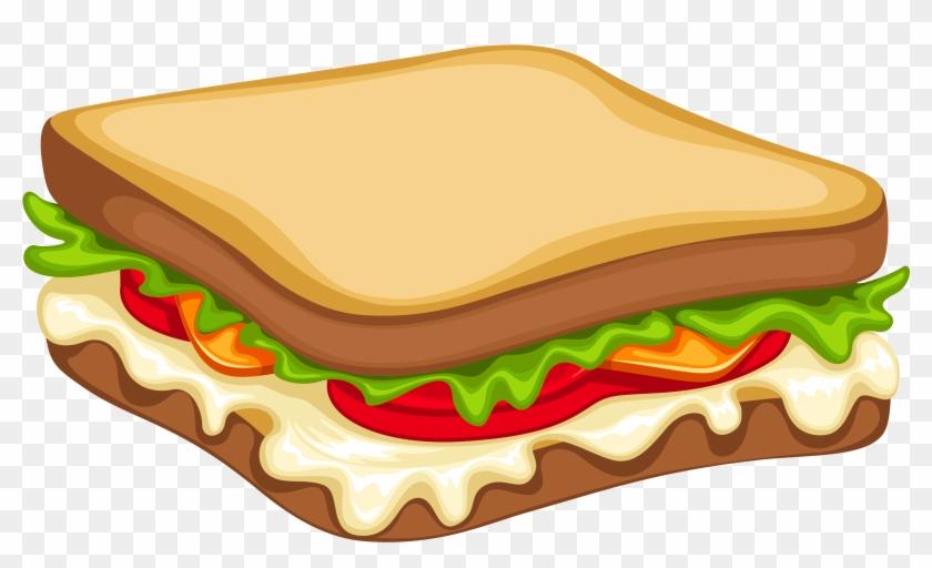 840x512 Sandwich Png Clipart Vector