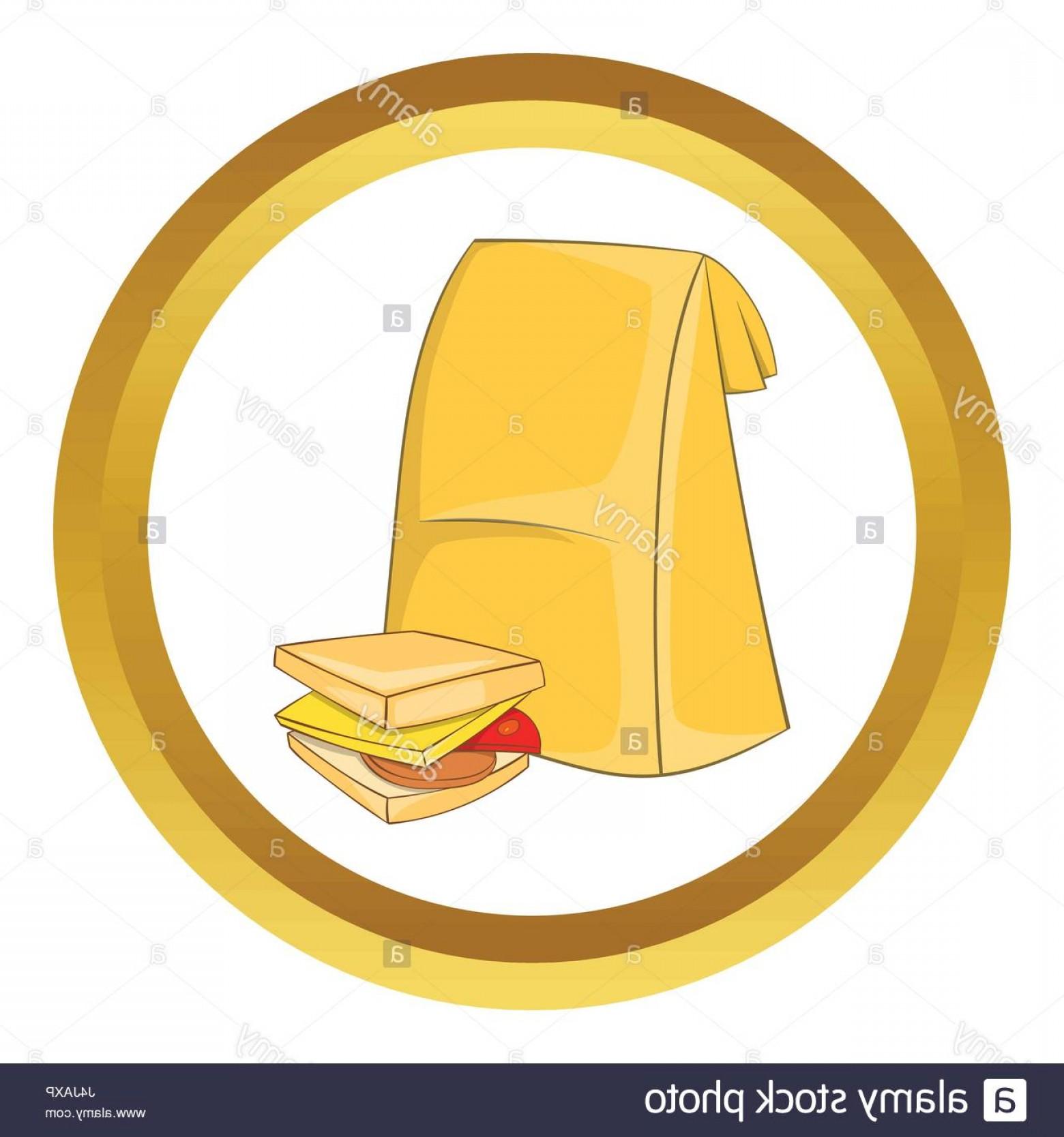 1560x1668 Stock Photo Lunch Bag And Sandwich Vector Icon Sohadacouri