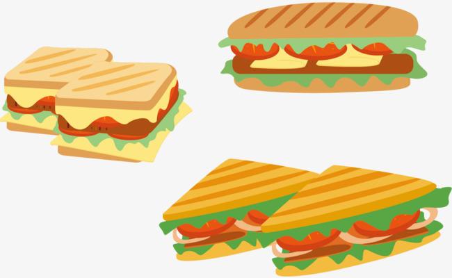 650x400 Vector Sandwich, Sandwich Vector, Vector, Hot Dog Png And Vector