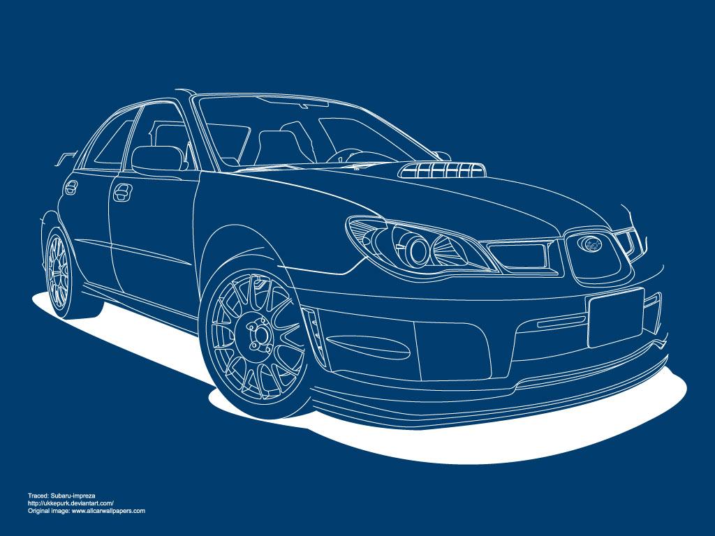 1024x768 Subaru Car