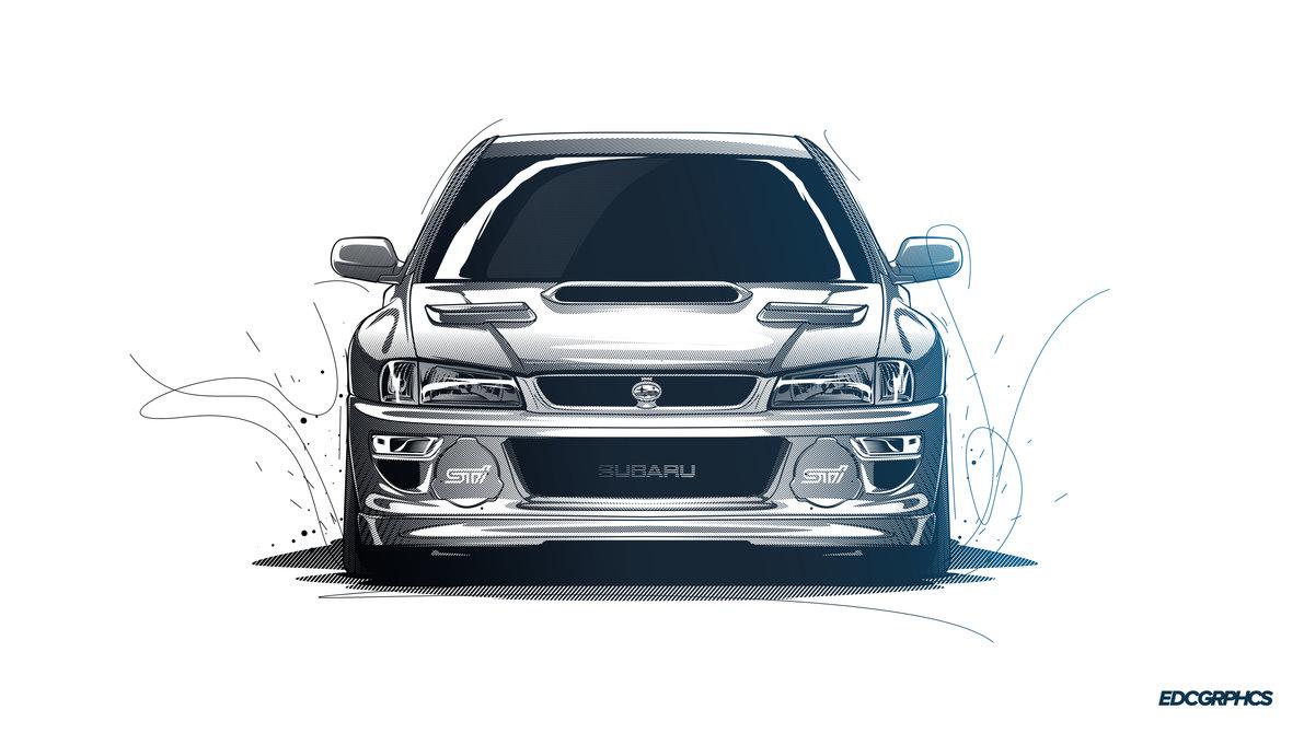 1191x670 Subaru Impreza Sti 22b Edcgrphcs By Edcgraphic