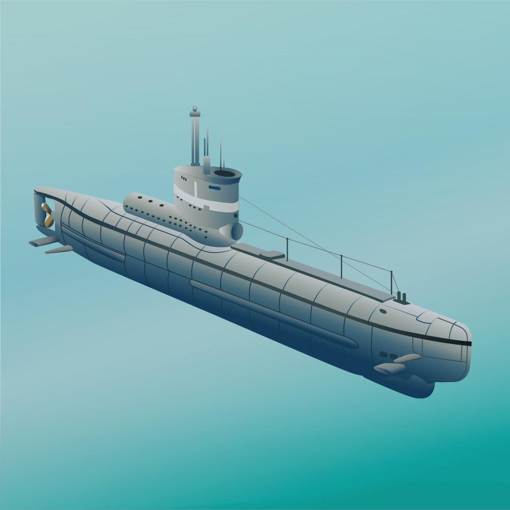 1001x1001 Submarine