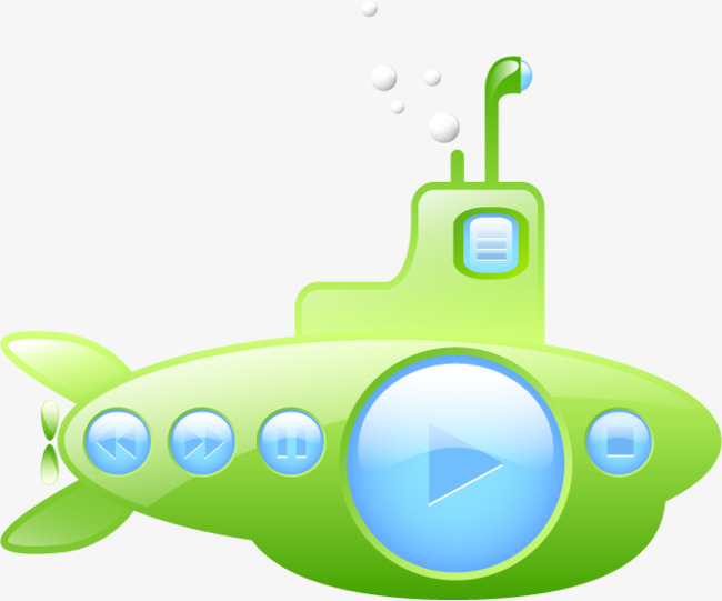 650x541 Vector Submarine, Submarine, Vector Free Download, Green Png And