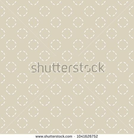 450x470 Subtle Vector Golden Ornament With Thin Circles. Fine Line