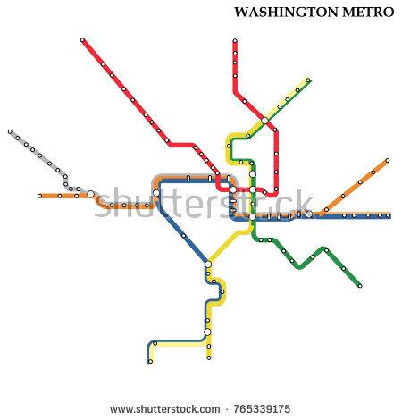 450x470 Washington Dc Subway Map Map Washington Dc Metro Subway Template
