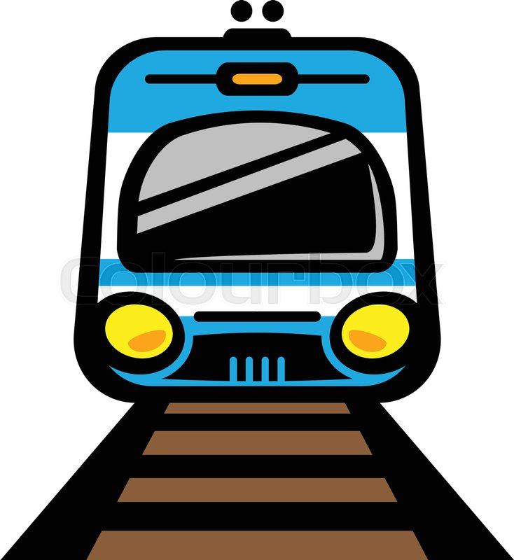 734x800 Subway Train Light Rail Car Vector Icon Stock Vector Colourbox