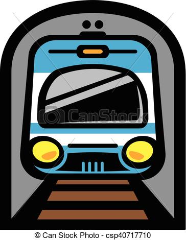 364x470 Subway Train Light Rail Car Vector Icon.