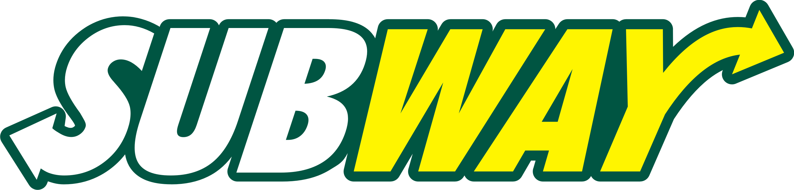 2708x651 Subway Logo Design Vector Free Download