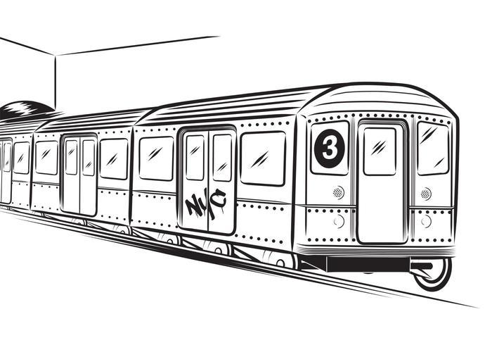 700x490 Free Subway Vector
