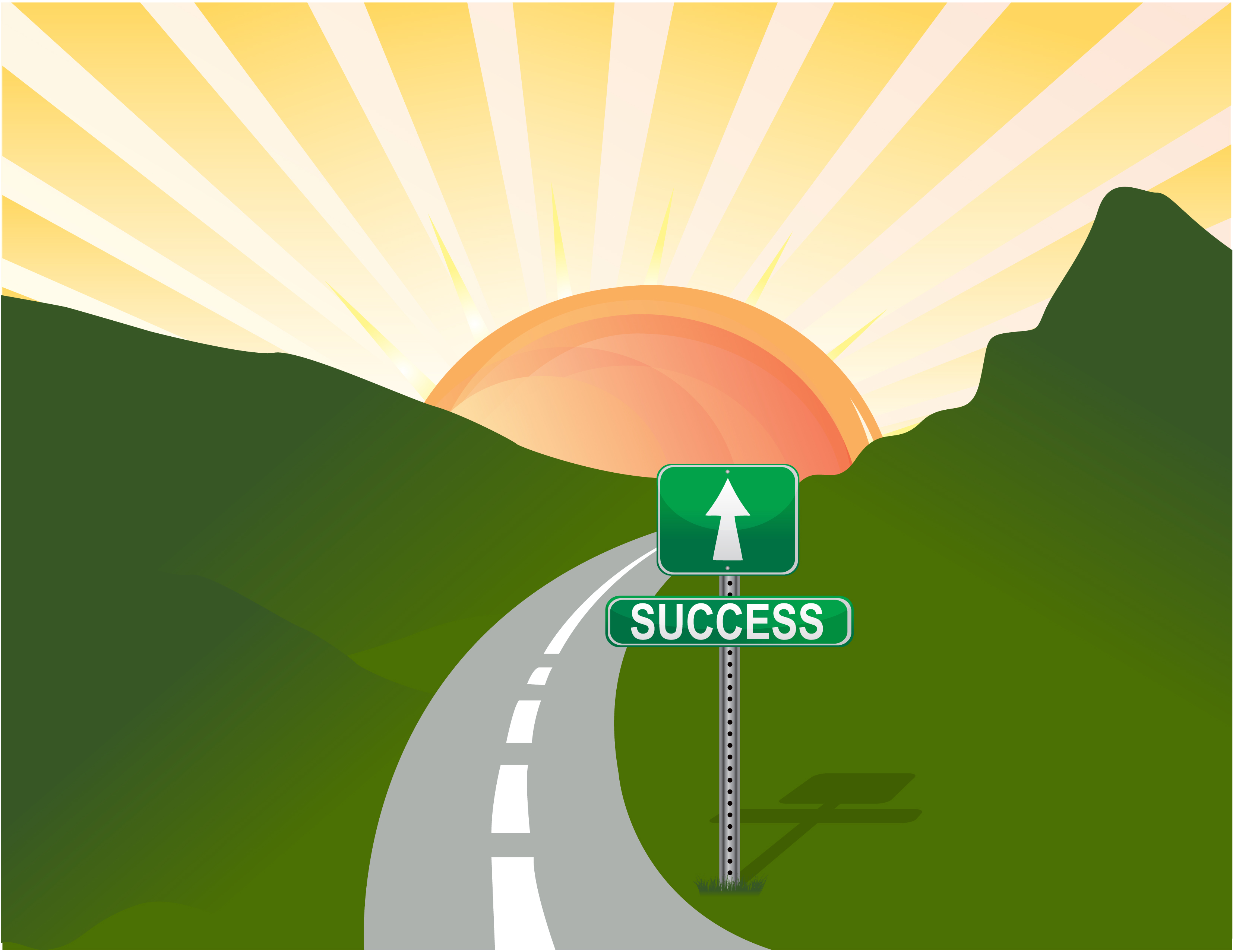 3309x2556 Photodune 3626610 Illustration Of Road To Success Vector L