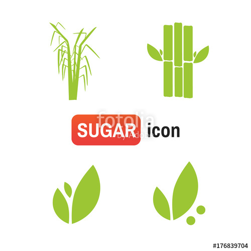 500x500 Sugar Cane Farm. Sugar Cane Vector Sign Stock Image And Royalty
