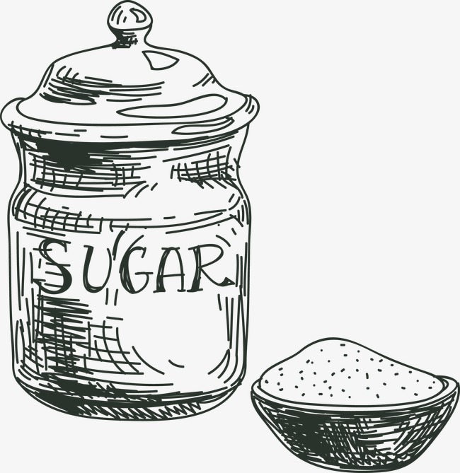 650x669 Vector Sugar Bowl, Hand Painted Sugar Bowl, Sugar, Sugar Bowl Png
