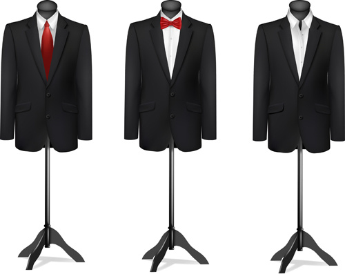 500x397 Men Suits Design Template Vector Free Vector In Encapsulated